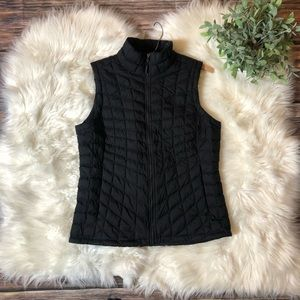 The North Face Black Quilted Puffer Vest